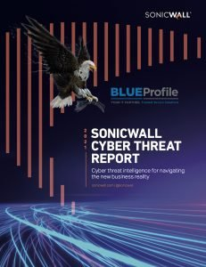 SonicWall 2021 Cyber Threat Report Blue Profile